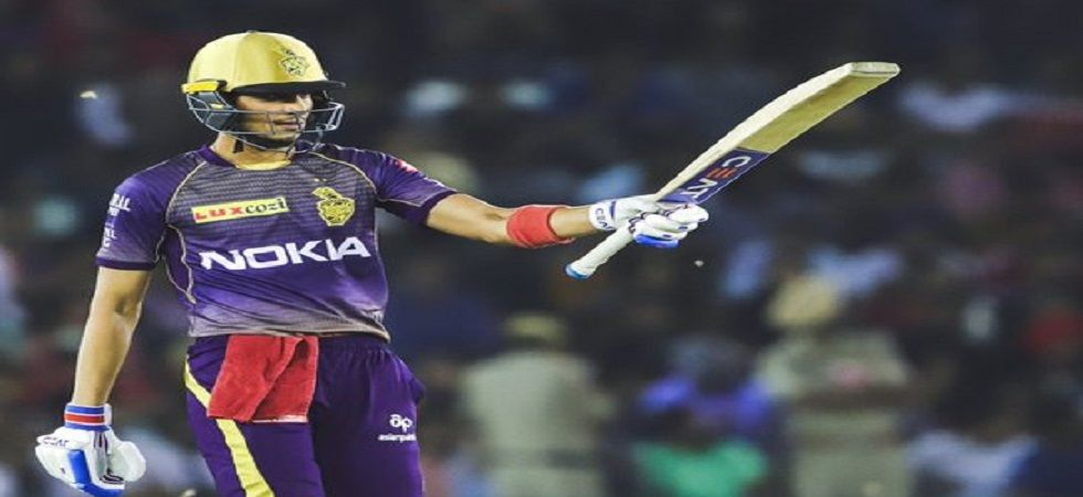 Shubman Gill blasted 69 and helped Kolkata Knight Riders secure a crucial seven-wicket win against Kings XI Punjab. (Image credit: KKR Twitter)