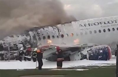 41 killed as burning Russian Aeroflot plane makes emergency landing at Moscow airport: Reports