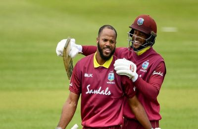 Shai Hope and John Campbell create new opening-wicket world record in ODI cricket