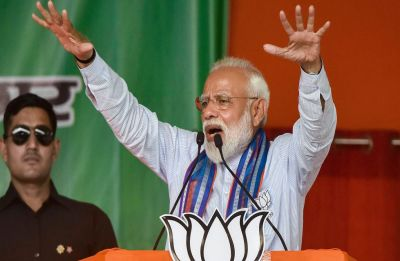 More the mud Rahul Gandhi throws at me, better the lotus will bloom: PM Modi in Madhya Pradesh