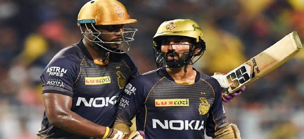 Dinesh Karthik's decisions in the middle of the losing streak was criticised by Andre Russell as Kolkata Knight Riders stumbled. (Image credit: Twitter)