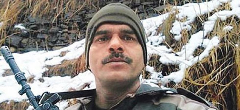 Yadav was dismissed from the service in 2017 after uploaded a video on social media complaining that poor quality food was being served to the troops in the icy, mountainous region along the Line of Control in Jammu and Kashmir. (File photo)