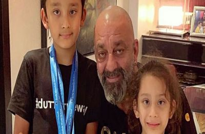 Sanjay Dutt wants his kids to grow up without any pressure
