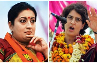 Priyanka Gandhi keeps taking my name more than her husband's, it's an accomplishment, says Smriti Irani