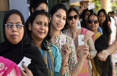 Uttar Pradesh: Over 57 per cent polling in Phase 5 of Lok Sabha elections