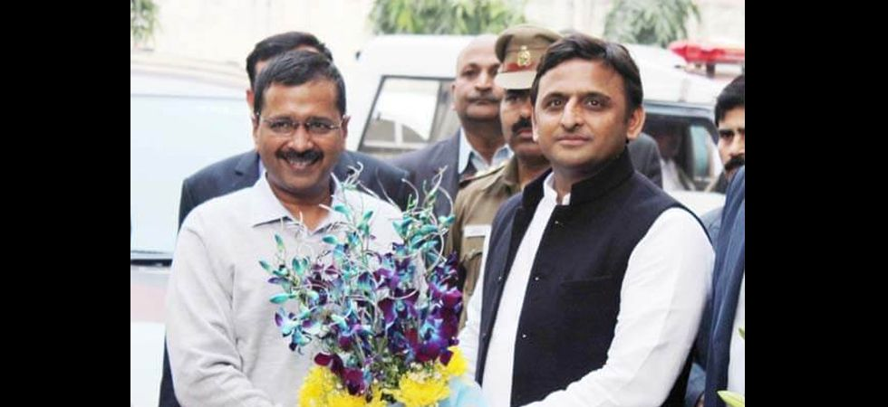 Arvind Kejriwal and Akhilesh Yadav (File Photo)