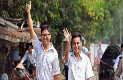 Myanmar frees two Reuters journalists in amnesty after global campaign