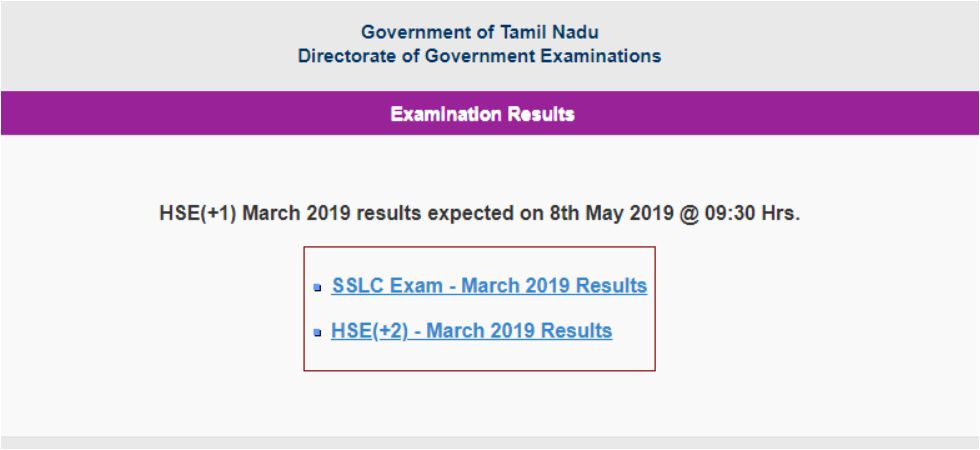 Tamil Nadu 11th Result 2019 to be out tomorrow.