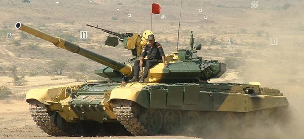 Indian Army's T-90 Battle Tank