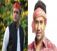 It is advantage Akhilesh in fight against Bhojpuri star Nirahua in Azamgarh