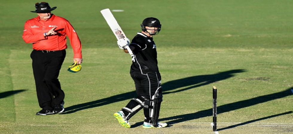 Steve Smith's 89 went in vain as Will Young blasted 130 to help New Zealand win by seven wickets in the second warm-up game. (Image credit: Twitter)