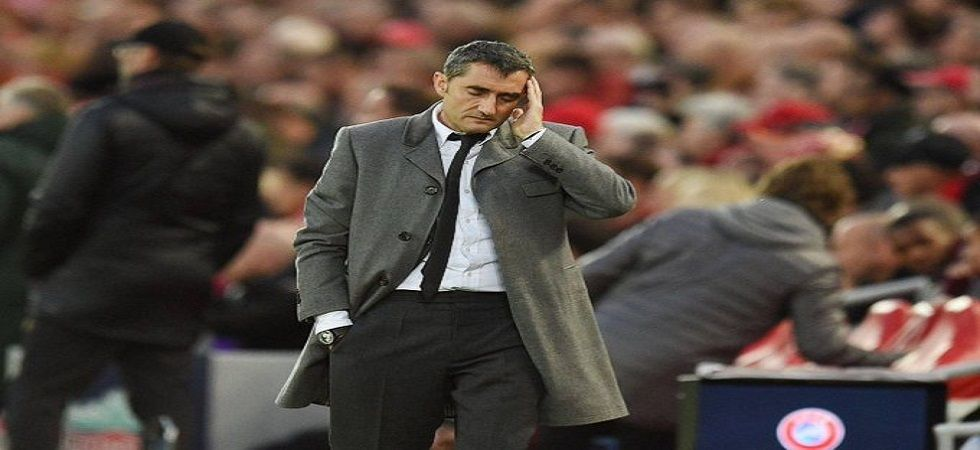 Ernesto Valverde has admitted that Barcelona squandering a big lead for the second consecutive time has hurt the team immensely. (Image credit: Twitter)
