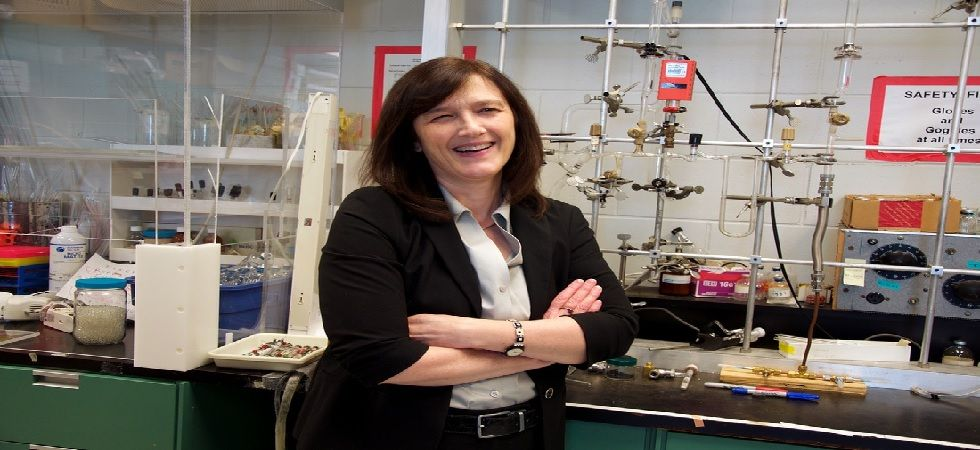 Sherwood Lollar has been studying ancient water below the Earth's surface in mines on the Canadian Shield and around the world (Photo: bsherwoodlollar.weebly.com)