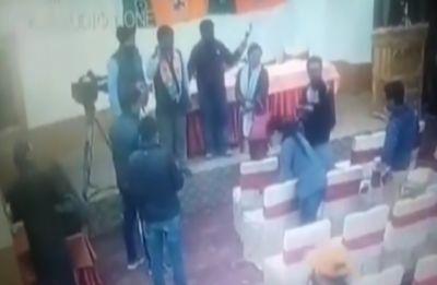 CCTV clip adds twist to Ladakh journalists' 'bribe claim', BJP threatens defamation case