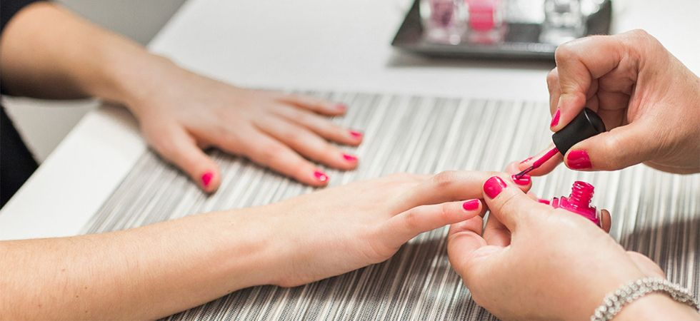 Nail salon workers are at high risk of cancer.