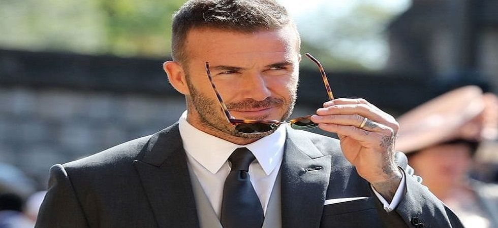 Beckham handed driving ban for using phone at the wheel (file photo)