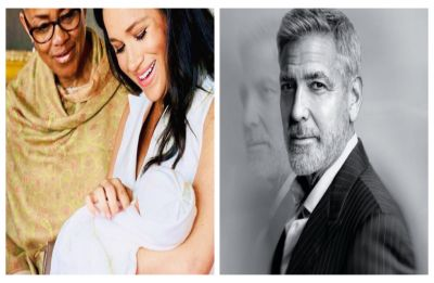 George Clooney reveals what he really thinks about sharing birthday with Baby Sussex