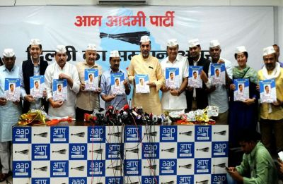 AAP releases poll manifesto for Punjab; unemployment, GST, farmers' income among 11 points