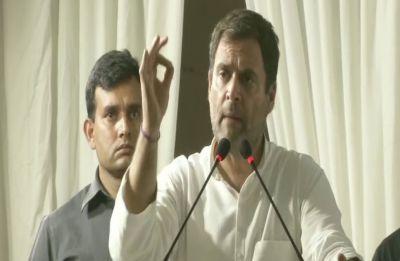 Not AAP, but only Congress can defeat Narendra Modi: Rahul Gandhi