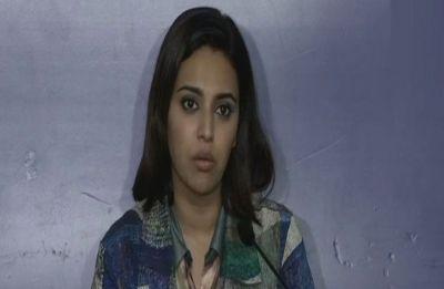 Swara Bhasker's fan sneakily records video while taking selfie saying 'Ayega toh Modi hi'