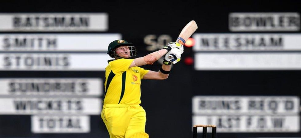 Steve Smith blasted two consecutive fifties as Australia won the three-match warm-up series against New Zealand 2-1. (Image credit: Twitter)