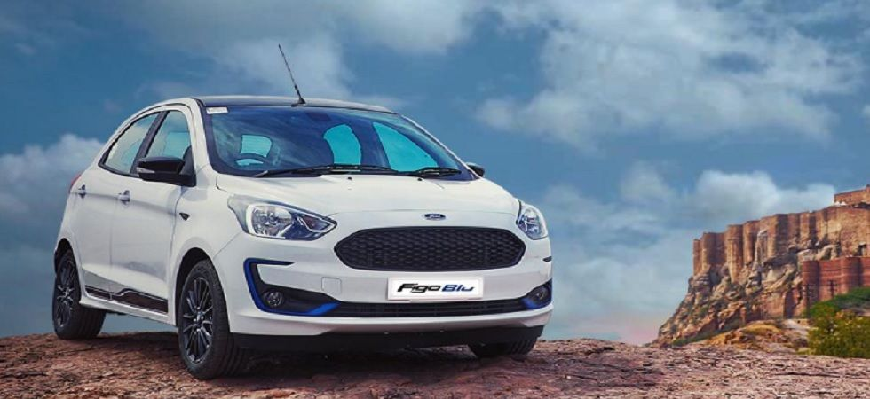 Ford launches special Aspire Blu edition in India at Rs 7.40 lakh (Twitter)