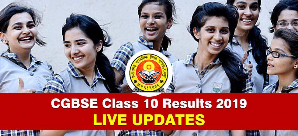 Chhattisgarh Board of Secondary Education (CGBSE) class 10 results 2019