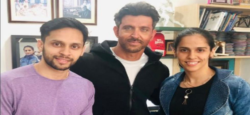 When Saina Nehwal and her husband met Hrithik Roshan
