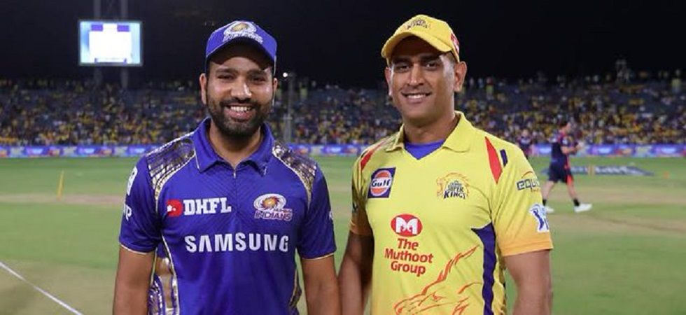 Mumbai Indians and Chennai Super Kings will square off in their fourth IPL final and this will be their fourth encounter in the 2019 edition. (Image credit: Twitter)
