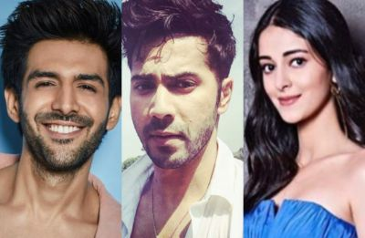 Watch: Kartik Aaryan flirts with Ananya Panday, Varun Dhawan interrupts