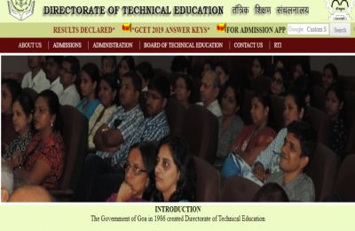 GCET Result 2019 declared at dte.goa.gov.in, how to check your score