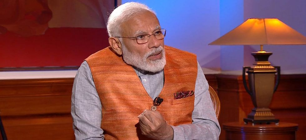 PM Modi in an interview with News Nation