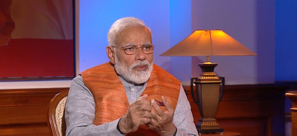 PM Modi also explained that he is not particular about any food and only routine he follows is having tea twice a day. (Image Credit: News Nation)