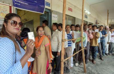Uttar Pradesh records 54% polling in 14 Lok Sabha seats, Akhilesh Yadav, Maneka Gandhi among key contestants