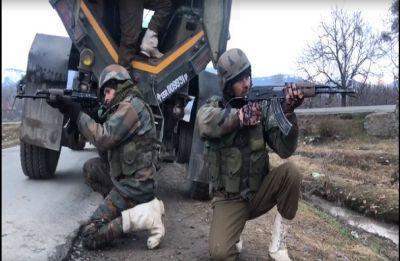 2 terrorists killed in Hind Sita Pora area of Jammu and Kashmir's Shopian
