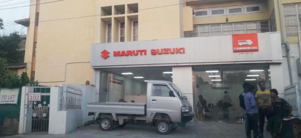Maruti Suzuki outlet (Photo Credit: Twitter)