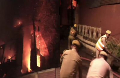 Fire breaks out in iconic Grand Hotel in Shimla, VVIP Mayo Block gutted