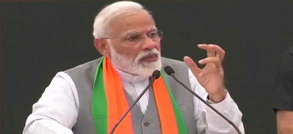 PM Modi said even the Narmada yatra, a religious pilgrimage undertaken by Singh last year, would not come to Digvijay rescue. (File Photo: ANI)