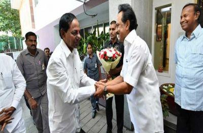 'No chance of third front sans Congress, BJP,' says DMK's MK Stalin