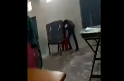 EC orders re-polling at Palwal booth where agent caught on camera 'influencing' voters