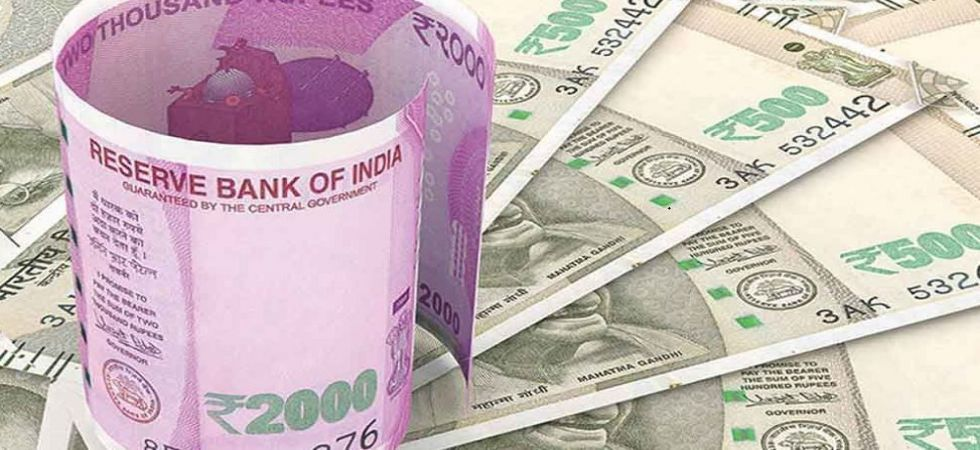The rupee opened at 70.43 at the interbank forex market, displaying gains of 9 paise over its last close