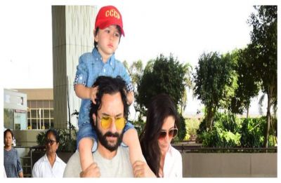 Saif Ali Khan opens up about his son Taimur Ali Khan's Bollywood debut