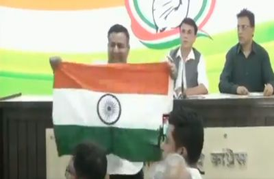 WATCH: Man interrupts Congress presser for referring to Yogi Adityanath as 'Ajay Singh Bisht'