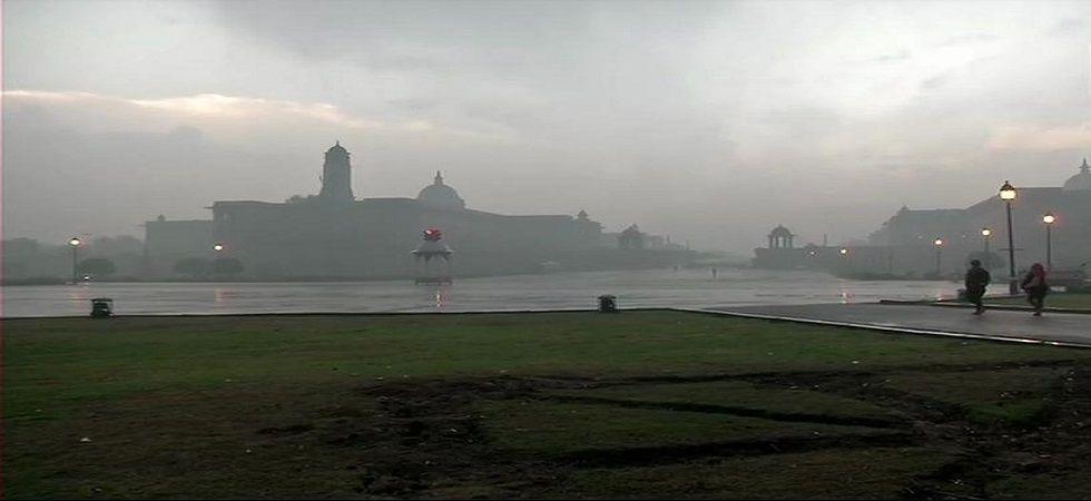 The thundershowers  commenced over parts of Delhi, Noida, Gurugram, Faridabad and Ghaziabad