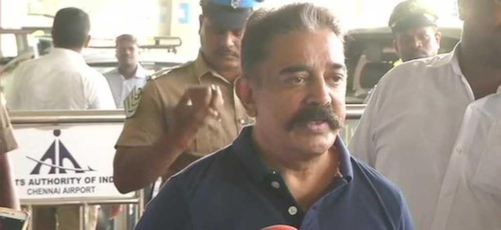 Makkal Needhi Maiam founder Kamal Haasan (ANI Photo)