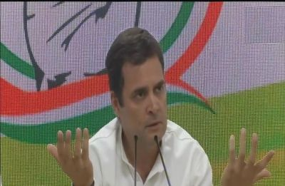 Unprecedented, PM holding press conference 4-5 days before election ends: Rahul Gandhi mocks Modi