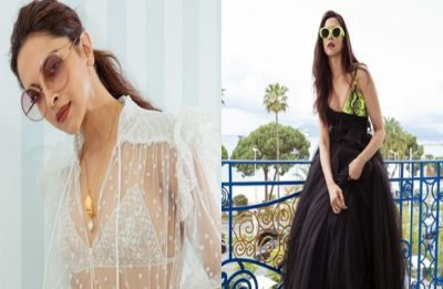 Cannes Film Festival: Deepika Padukone steps up the fashion game in sheer shirt and pants, see PICS