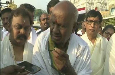 We are with Congress: JD(S) Chief HD Deve Gowda reaffirms support to Rahul Gandhi