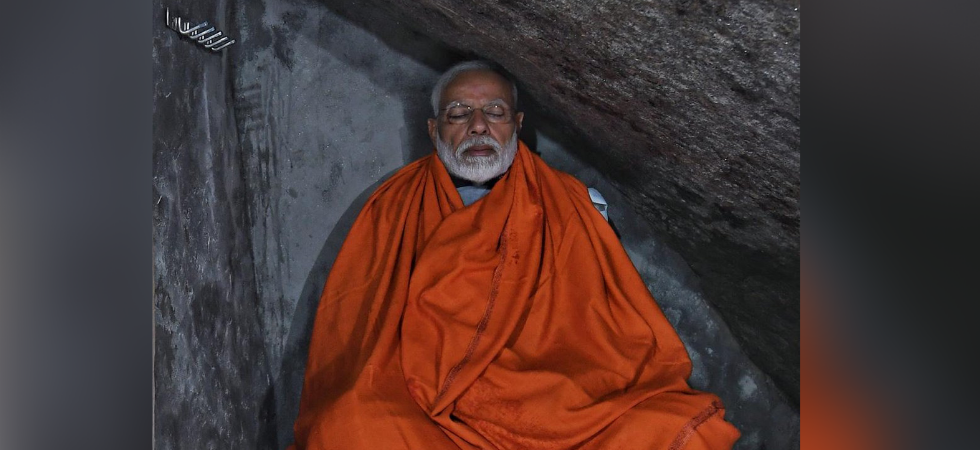 Prime Minister Narendra Modi at Kedarnath (Photo Source: Twitter)