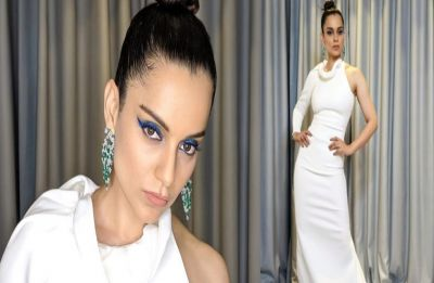 Cannes 2019: Kangana Ranaut's white ensemble embodies everything she is known for, BOSS LADY